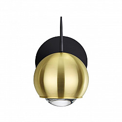 4227/6WL L-VISION ODL21 070 зол/металл Настенный светильник выкл на базе IP20 LED 6W 300Лм 3000К MIA