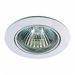 369100 NT09 366 белый свет Встраиваемый светильник IP20 GX5.3 50W 12V CROWN