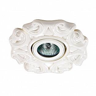 370040 NT15 254 белый Встраиваемый светильник IP20 GX5.3 50W 12V FARFOR