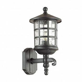 4043/1W ODL18 725 черный Уличный настенный светильник IP44 E27 60W 220V HOUSE