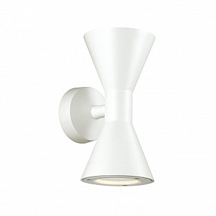 4611/10WL ODL19 305 белый Уличный настенный светильник IP65 GU10 2*5W AXEN