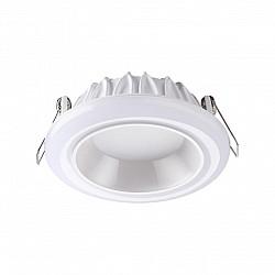 358279 NT19 000 белый Встраиваемый светильник IP20 LED 4000K 12W 85-265V JOIA