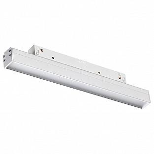 358409 SHINO NT20 000 белый Трековый светильник для низков. шинопровода IP20 LED 4000K 12W 48V FLUM