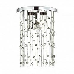 4845/1W HALL ODL21 341 хром/металл.цепочки /стекло Бра E14 1*40W RAINI