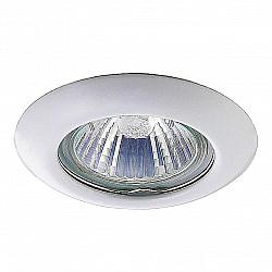 369111 NT09 379 белый свет Встраиваемый НП светильник GX5.3 50W 12V TOR