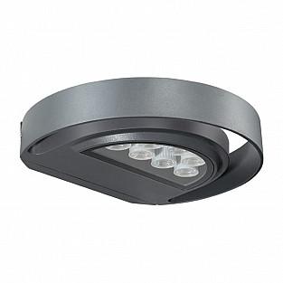 357423 NT17 145 темно-серый Ландшафтный светильник IP54 LED 3000K 7W 220-240V KAIMAS