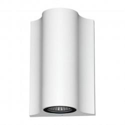 357519 NT18 098 белый Ландшафтный светильник IP54 LED 3000K 10W 220-240V CALLE