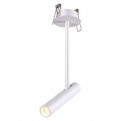 357943 NT19 020 белый Встраиваемый светильник IP20 LED 3000К 5W 220-240V MONS