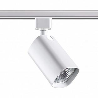 370552 NT19 199 белый Трековый светильник IP20 GU10 50W 230V GUSTO
