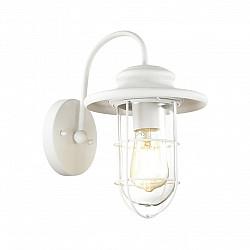 4172/1W ODL19 311 белый/прозрачный Уличный настенный светильник IP44 E27 1*60W HELM