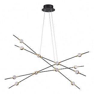 3906/48L ODL20 29 золотистый/металл Подвесной светильник LED 4000K 48W 220V COSTELLA