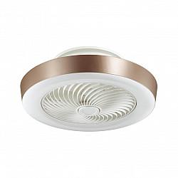 3035/72EL VASTA LED SN 037 Люстра-вентилятор FAN BROWN пластик LED 72Вт 4200-6500-3000K D550 пульт