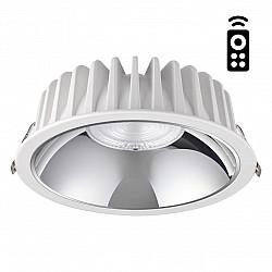 358300 NT19 000 белый Встраиваемый диммируемый светильник с пультом ДУ IP20 LED 3000-6500K 40W 220-2
