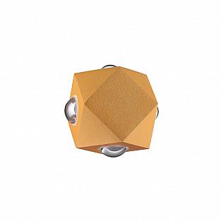 4220/8WL HIGHTECH ODL21 золотист/металл Настенный светильник IP54 LED 8W 724Лм 3200K DIAMANTA