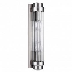 4823/2W WALLI ODL21 505 никель/прозрачный Настенный светильник E14 2*40W LORDI