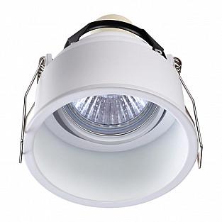 370563 NT19 219 белый Встраиваемый светильник IP20 GU10 50W 220-240V CLOUD