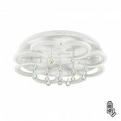 4448/84CL LN20 017 белый Люстра потолочная LED 84W 220V JOJO