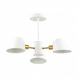 4465/3C LN20 054 белый, золотой Люстра потолочная E14 3*60W 220V KENIA