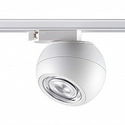 358353 PORT NT20 000 белый Однофазный трековый светильник IP20 LED 4000K 12W 85-265V BALL
