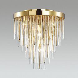 4784/7C ODL21 329 золото/металл/стекло Люстра потолчн. E14 7*40W AVISTA
