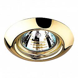 369113 NT09 379 золото Встраиваемый НП светильник GX5.3 50W 12V TOR