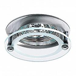 369172 NT09 334 никель Встраиваемый НП светильник GX5.3 50W 12V ROUND