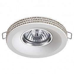 370444 NT19 000 белый Встраиваемый светильникк IP20 GU10 50W 220V LILAC