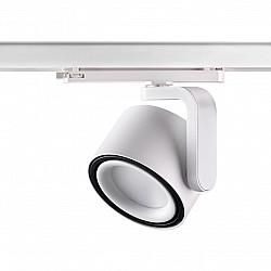 358175 NT19 000 белый/черный Светильник трехфазный трековый светодиодный IP20 LED 4000K 30W 100-240V