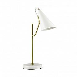 4439/1T LN20 050 белый, золотой Настольная лампа E14 1*40W 220V WATSON