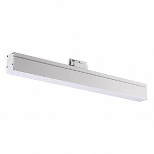 358185 NT19 000 белый Однофазный трековый светодиодный светильник IP20 4000K 18W 100-240V ITER