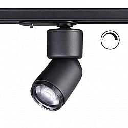 358292 NT19 000 черный Однофазный трековый светильник IP20 LED 3000K 12W 180-260V FINO