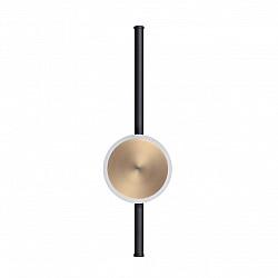 4256/12WL HIGHTECH ODL21 119 черн/бронза/металл Настен.светильник IP20 LED 12W 760Лм 3000K STILO