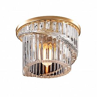 369901 NT14 298 золото Встраиваемый светильник IP20 G9 40W 220V DEW