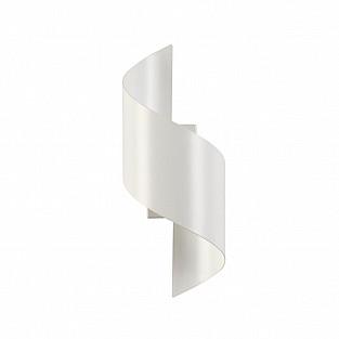 3543/5LW ODL18 105 белый Настенный светильник IP20 LED 3000K 5W 500Лм 220V BOCCOLO