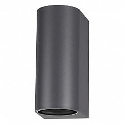 370599 NT19 240 темно-серый Ландшафтный светильник IP54 GU10 2*50W 220V LANDSCAPE