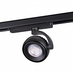 358166 NT19 000 черный Светильник трехфазный трековый светодиодный IP20 LED 4000K 20W 100-240V CURL