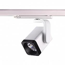 358176 NT19 000 белый/черный Светильник трехфазный трековый светодиодный IP20 LED 4000K 25W 100-240V