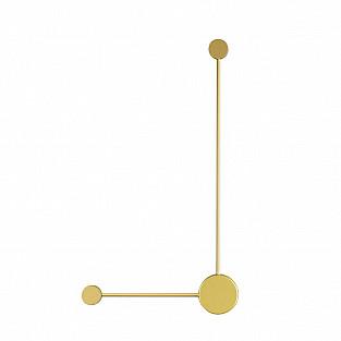 3900/10WG ODL20 129 золотистый/металл Настенный светильник LED 4000K 10W 220V SATELLITE