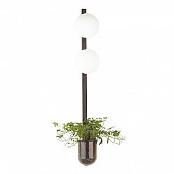 4681/2WA ODL20 625 черный/белый Настенный светильник E14 2*40W 220V FLOWER