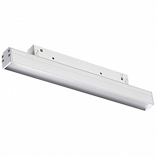 358413 SHINO NT20 000 белый Трековый светильник для низков. шинопровода IP20 LED 4000K 12W 48V FLUM