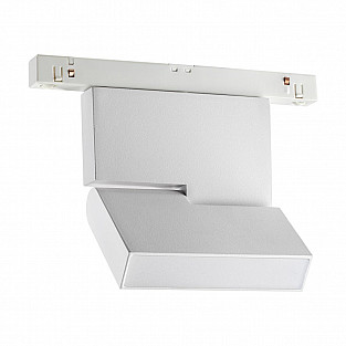 358466 SHINO NT20 000 белый Трековый светильник для низков. шинопровода IP20 LED 4000К 10W 48V FLUM