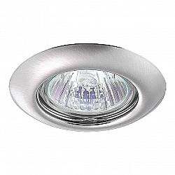 369115 NT09 379 никель Встраиваемый НП светильник GX5.3 50W 12V TOR