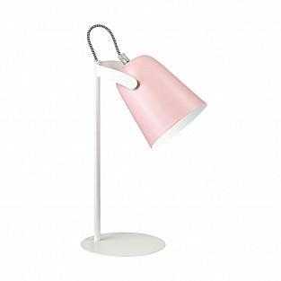 3652/1T LN18 223 белый/розовый Настольная лампа E14 4W 220V KENNY