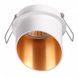 370436 NT19 216 белый Встраиваемый светильник IP20 GU10 50W 220V BUTT