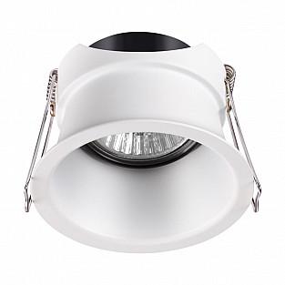 370446 NT19 216 белый Встраиваемый светильник IP20 GU10 50W 220V BUTT