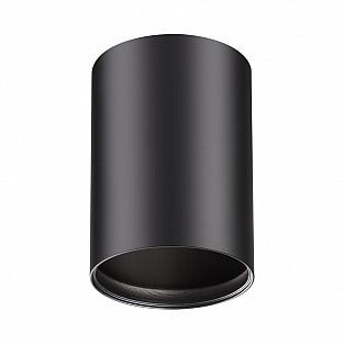 370456 NT19 034 черный Накладной светильник IP20 GU10 50W 220V MECANO