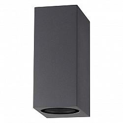 370600 NT19 240 темно-серый Ландшафтный светильник IP54 GU10 2*50W 220V LANDSCAPE