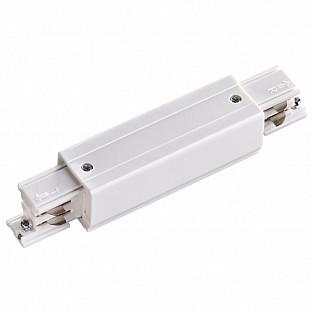 135050 NT19 000 белый Соединитель с токопроводом прямой внешний для трёхфазного шинопровода IP20 220