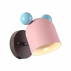 4731/1W ODL20 613 розовый/голубой Подвес GU10 5W Mickey