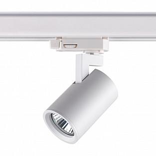 370648 NT19 000 белый Светильник трёхфазный трековый IP20 GU10 50W 220V GUSTO